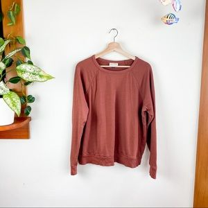 Universal Thread Crew Neck Long Sweater Brown M